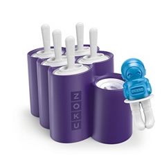 Zoku space pops lolly moulds