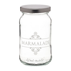 Home Made marmalade glass preserving jar
