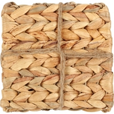 Waitrose Dining water hyacinth coasters