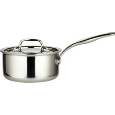 from Waitrose 16cm tri-ply lidded saucepan