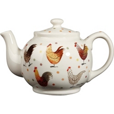 Churchill China Rooster teapot