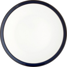 Waitrose Dining Oxford blue dinner plate
