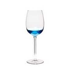 Denby azure wine glasses, set of 4