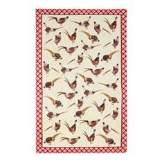 Ulster Weavers pheasants tea towel