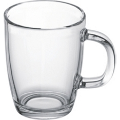 Bodum Bistro 0.35L glass coffee mug