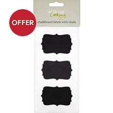 Waitrose Cooking chalkboard labels, set of 6