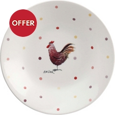 Churchill China Rooster coupe bowl