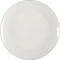 Waitrose Essential 20cm Stoneware Dinner Plate