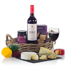 Cheese and Wine Gift Tray