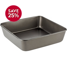 Waitrose Cooking 20cm square deep cake tin