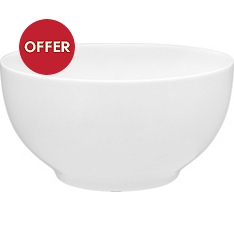 Waitrose Chef's White cereal bowl