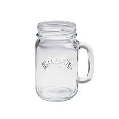 Kilner handled jar clear