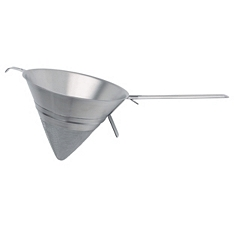 Master Class stainless steel conical sieve, 20cm