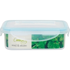Waitrose seal & store 0.5L rectangle container