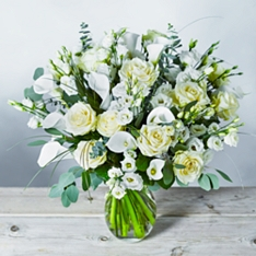 Luxury Flower Garden White Delight Bouquet