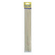 PME wooden dowel rods, pack of 12