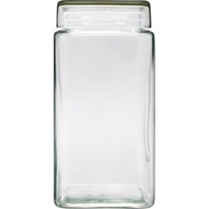 Waitrose large square storage jar
