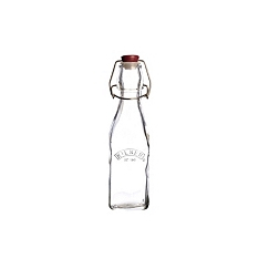 Kilner square clip top bottle, 250ml