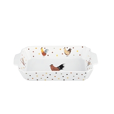 Churchill China Rooster rectangular roaster