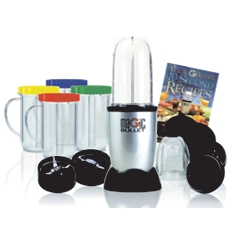 Magic Bullet 21 piece deluxe system smoothie maker