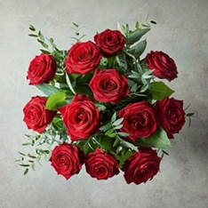 Dozen Ultimate Red Roses Bouquet