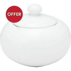 Waitrose Chef's White sugar bowl