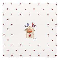 Churchill Alex clark Lovebirds placemats, set of 4