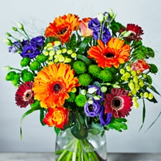 Autumn Morning Bouquet Gift Set