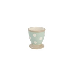 Cream & Country mint spot egg cup