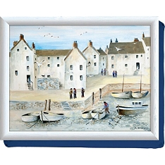 Creative Tops cornish harbour lap tray