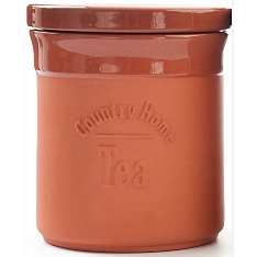 DMD Terracotta tea canister