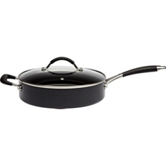 Waitrose Cooking 26cm aluminium sauté pan