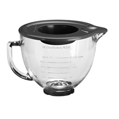 KitchenAid glass bowl, 4.8 litres