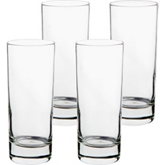 essential Waitrose hi-ball tumblers, set of 4