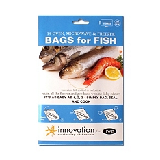 Innovation bags for fish, pack of 15