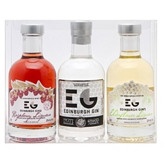 Edinburgh Flavoured Gin Trio