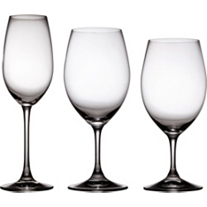Riedel Ouverture red/white/Champagne wine glasses set