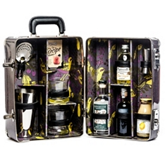 Bramble Cocktail Suitcase