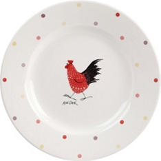 Churchill China Rooster side plate