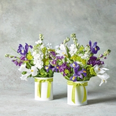 Summer Posy Jar Duo