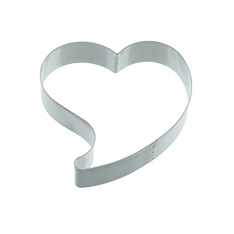 Kitchen Craft heart metal cookie cutter