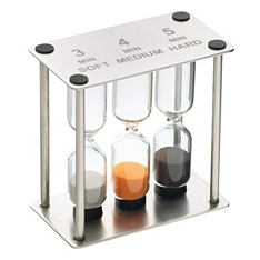 Master Class professional triple sand timer