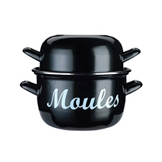 World of Flavours Mediterranean mussel pot, 18cm