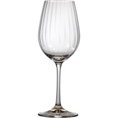 Waitrose optic crystal wine glass