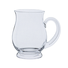 Dartington Glass Tankards maltings glass, 1/2 pint