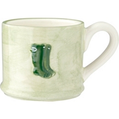 Waitrose embossed welly mug