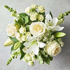 Rose & Scented Lily Bouquet
