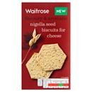 Waitrose Nigella Seed Biscuit for Cheese 150g
