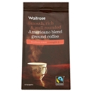 Waitrose Americano Blend Ground Coffee 227g