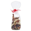 Linden Lady Handmade Luxury Florentines with Brown Sheer Ribbon 125g
